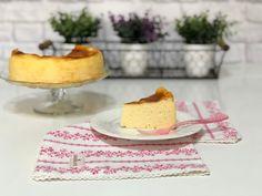 "TARTA DE QUESO ESTILO ""LA VIÑA"" Sweet Recipes, Cake Recipes, Cheesecakes, Vanilla Cake, Cooking, Desserts, Sweet Dreams, Breads, Gluten"