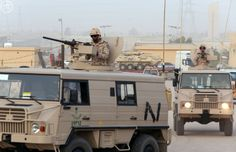 Vanguards of the Saudi Ministry of National Guard troops up to Najran province