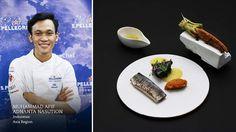 "Muhammad Afif Adnanta Nasution, Bali, Indonesia, Asia Region – ""Smoked Java Mackerel with Batak sauce"