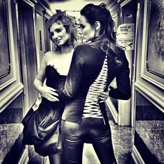 Sexy Girls. From backstage with Love.#mozartloperarock#dianedassigny#me#melissamars#sexy#cute#girls#kremlin#moscow#moscou#russia#russie#show#concert#music#photo#backstage#fashion#style#jacket#opened#laçage#veste#corridor#happy#sowhat#ilovemylife#lifeisbeautiful