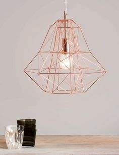 The Geometric Nook Pendant Shade in Copper, £59 | MADE.COM