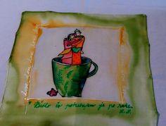 ilustr.Anne-Sophie Rutsaert silk paint Monica Cadre
