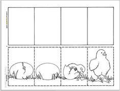 Logische volgorde Farm Crafts, Life Cycles, Raising Kids, Pre School, Childcare, Preschool Activities, Farm Animals, Coloring Pages, About Me Blog