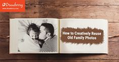 How to Creatively Reuse Old Family Photos - Drawberry Art - Medium Old Family Photos, Old Photos, Pet Portraits, Family Portraits, Family Calendar, Family Painting, Art Story, Hand Painted Canvas, Canvas Pictures