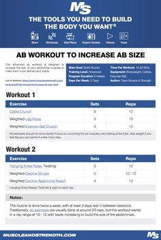 This basic beginner leg workout hits the quads, hamstrings, glutes & calf muscles. It is designed for beginners to weight training who want to build and strengthen their legs. Beginner Leg Workout, Arm Day Workout, Workout Splits, Workout Diet Plan, Workout Ideas, Push Pull Workout Routine, Workout Abs, Dumbbell Workout, 2 Day Split Workout