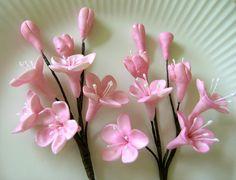 CHERRY BLOSSOM STEMS  / Gum Paste Flowers  $11.95