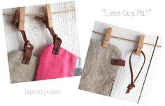 Vedi particolare dell'asola e del cordoncino - handmade*zakka | fabrickaz+idees
