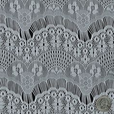 Off White Eyelash Ornate Pattern Lace Fabric by the Yard, for Bridal, Arts and Crafts, Decoration - 1 Yard Style 103  $8