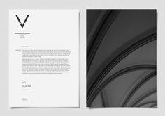 Virgile Simon Bertrand / Identity by Calum Rudd, via Behance
