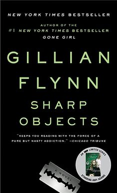 Sharp Objects by Gillian Flynn, a thriller about a young journalist who returns to her small hometown to investigate the murders of two young girls. This dark story is an I-can't-put-this-book-down read (even if you haven't watched the HBO series. Book Of Love, The Book, Good Books, Books To Read, My Books, Amazing Books, Library Books, Bestseller Author, Good Thriller Books