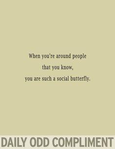 """""""Social Butterfly"""""""