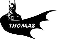 Decalques Feitos Pelo Cliente Personalizado Batman Adesivo De Parede Viny Meninos Quarto Decor Em Flylife