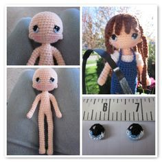 By Hook, By Hand: Another wonderful doll pattern                                                                                                                                                                                 More