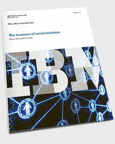 Nice precedent of a research landing page from IBM on their new Social Business study.