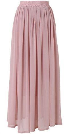 full length pink dusty rose maxi skirt   Mode-sty tznius fashion style hijab muslim islamic mormon lds jewish christian no slit