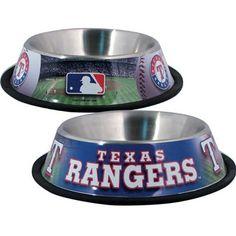 Texas RANGERS  MLB 32 oz. Water Bowl