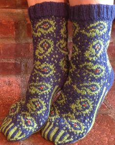 For the Love of Paisley Socks | Craftsy