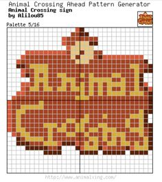 Link Bw Palette 1516 Animal Crossing Pattern Generator