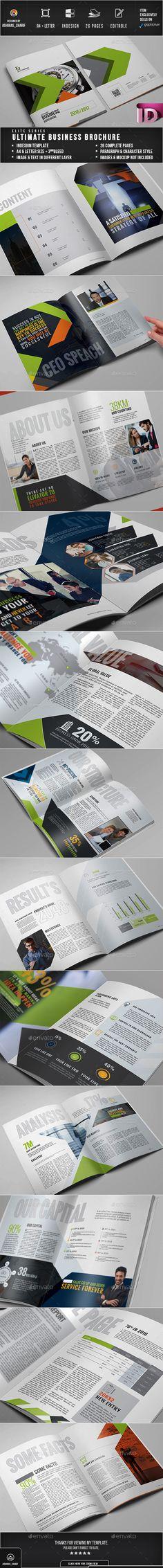 Brochure Brochure Layout, Corporate Brochure, Business Brochure, Brochure Design, Indesign Templates, Print Templates, Brochure Template, Print Design, Graphic Design