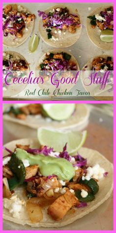 Red Chile Chicken Ta