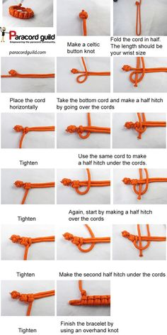 """#ParacordChallenge---Difficulty Level: Easy You know the drill, grab some paracord and get tying! This week's challenge is """"The Cow Hitch Bracelet."""" Show us your completed project below (via ParacordGuild) #paracord #tying #knotting #crafting #design #diy #tutorial #paracordial #howto #challenge #paracordguild #bracelet"""
