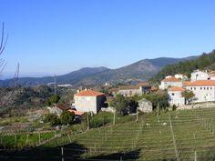 HELDER BARROS: Amarante - Freguesia de Bustelo, aparece bem lá no cimo do Altar da Serra do Marão!