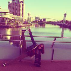 Side Plank Variation | Vasisthasana • Salford Quays • Manchester
