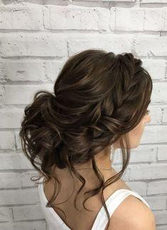 Featured Hairstyle: Elstile (El Style); www.elstile.ru; Wedding hairstyle idea. #WeddingHairstyles #weddingideas