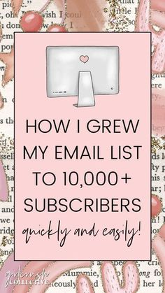 If you're looking to boost your blog's traffic or your business's sales in 2020, email marketing needs to be your top priority. Email marketing is the act of promoting your business or blog via email. To get started with email marketing, you'll need to start to build your email list. An email list is a collection of subscribers and their information (usually just name and email address) that have opted into receiving emails from you. #blogging #business #emaillist #emai Email Marketing Strategy, Content Marketing, Affiliate Marketing, Social Media Marketing, Business Marketing, Digital Marketing, Business Tips, Online Business, Creative Business