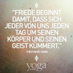 Die 8 besten Bilder von Yoga Sprüche | Yoga meditation, Yoga