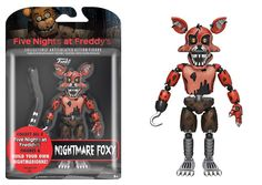 Five Nights at Freddy's Nightmare Foxy 5-Inch Action Figure