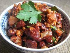 Рецепт Салат с красной фасолью