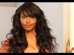 Glueless full lace wig Chinese virgin Gsw301 at bestlacewigs.com   http://www.bestlacewigs.com/glueless-full-lace-wig-wavy-chinese-virgin-hair-gsw303730-36.html