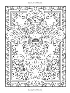 Creative Haven Day of the Dead Coloring Book (Creative Haven Coloring Books): Marty Noble, Creative Haven: 9780486492131: AmazonSmile: Books
