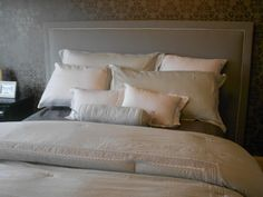 Home Building Buzz: DIY Upholstered Headboard Inspired by the Parade of Homes