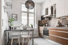 Blog wnętrzarski - design, nowoczesne projekty wnętrz: Jak urządzić mieszkanie 46m2 - skandynawski styl