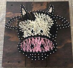 Baby Elephant string art / Cow string art