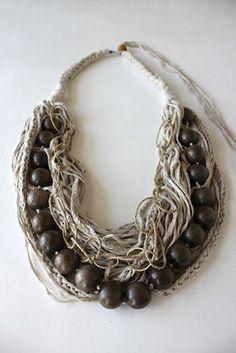 Fibres + Wood | niki stylianou jewelry