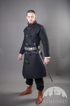 Gambeson medievale per il combattimento