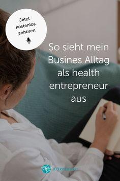 Du wolltest schon immer wissen, wie der berufliche Alltag in einem Gesundheitsunternehmen aussieht?In meiner Podcast Folge bekommst du einen Blick hinter die Kulissen, erfährst welchen Stellenwert Social Media für mich als health entrepreneur hat und wie wichtig es ist als Yoga- oder PilateslehrerIn auf deine eigene Balance zu achten.Klicke auf den Pin und höre dir die Podcast Folge gleich an 🎙 #podcast #business #mindfulbusiness #mindfulsocialmedia #healthentrepreneur #mindfulness Work Life Balance, Mindfulness, Training, Yoga, Envy, Backdrops, Joie De Vivre, Psychics, Things To Do