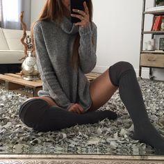 Lucy OTK Socks   OHM BOUTIQUE