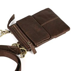 Fashion Retro Genuine Leather man bag Top quality chest pack sports small bag crossbody shoulder bag soft handle waist packs