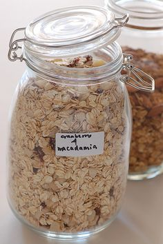 Make Your Own home made natural muesli