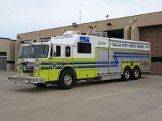 ◆DFW Airport Haz-Mat/Rescue 1 ~ Pierce Heavy-Duty Rescue  Squad◆