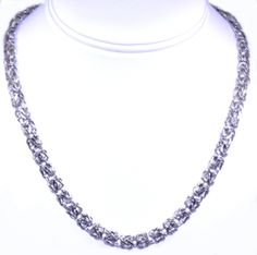 (http://shop.shinjewelers.com/30002276-14k-white-gold-18-25-byzantine-chain/) #BYZANTINE #NECKLACE #WHITEGOLD