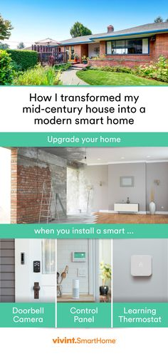 I transformed my 1970's home into a smart home overnight. It was so easy, and anyone can do it! Learn how I transformed my home with Vivint today!