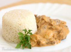 Strogonoff de Carne Rápido ~ PANELATERAPIA - Blog de Culinária, Gastronomia e Receitas