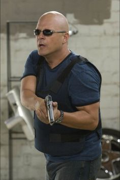 Michael Chiklis for the villain henchman.