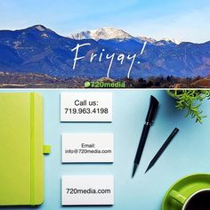 #HappyFriday  . . #fridaythe13th #coloradosprings #colorado #mountains #designlife #lovewhatyoudo #wordpress #lifegoals #720media #green #entrepreneurlife #motivated #coloradogram