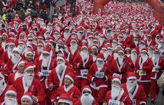 Δημιουργία - Επικοινωνία: Το πρώτο Athens Santa Run στην Αθήνα Εκατοντάδες δ...